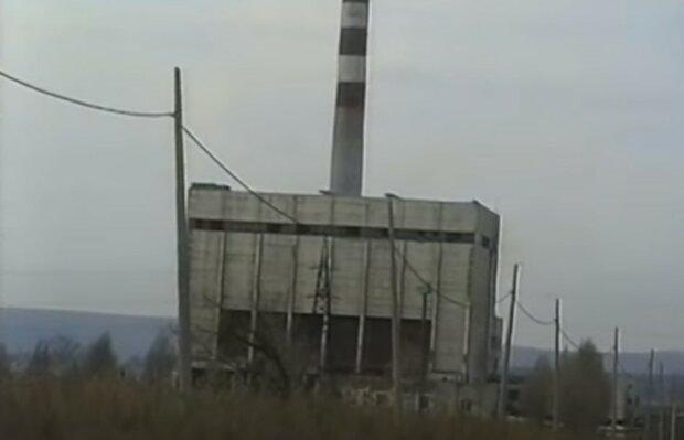 старий завод, скріншот з відео