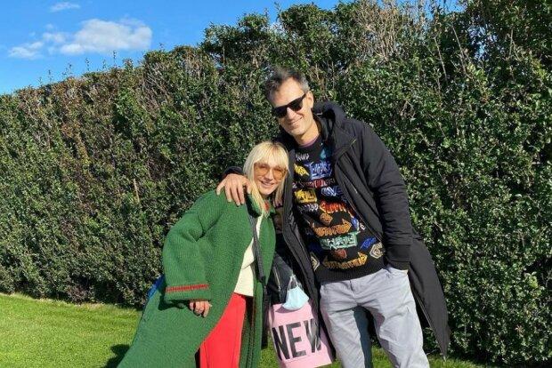 Крістіна Орбакайте з чоловіком, фото Instagram