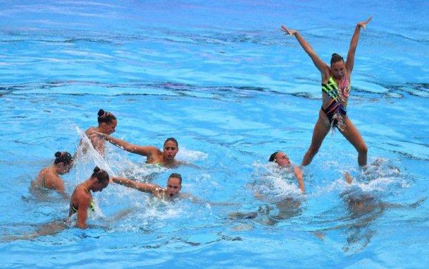 Збірна України з синхронного плавання завоювала срібло чемпіонату світу