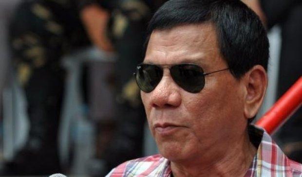 Президент Філіппін прокляв Обаму