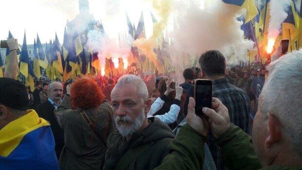 Мітинг, фото Знай.ua