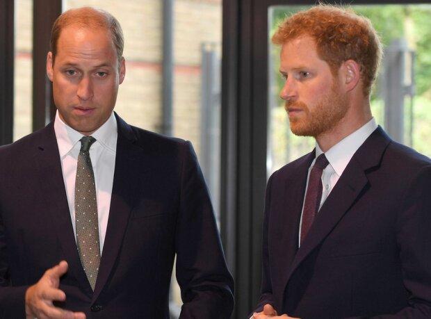 Принц Вільям та принц Гаррі , фото Getty Images