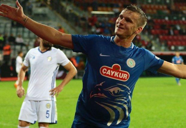 Українець Гладкий забив дебютний гол у Туреччині: відео