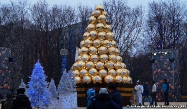 Дніпропетровська ялинка заощадила бюджет