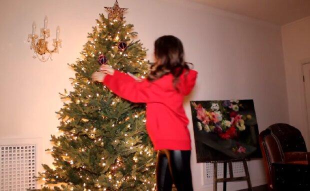 Самотній Новий рік, скріншот відео
