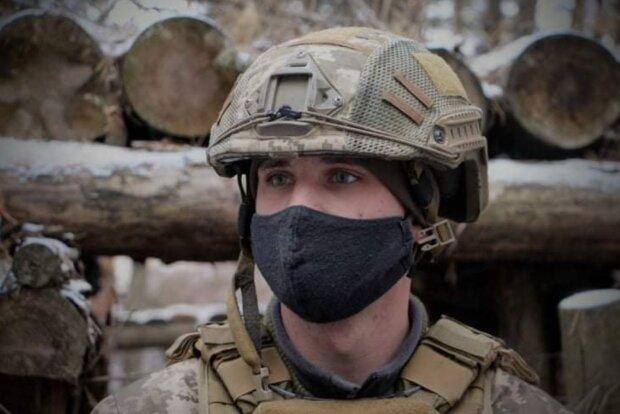 Офицер Андрей, фото: facebook.com/pressjfo.news