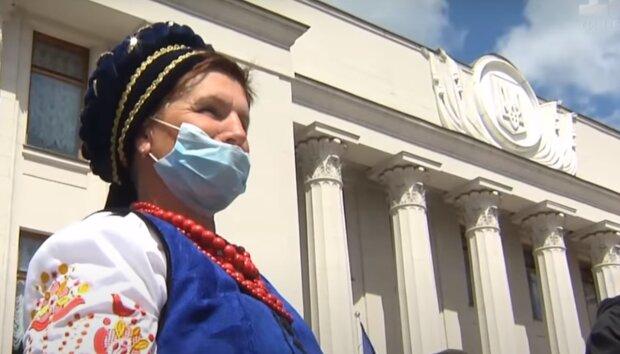 В Киеве под Радой построили дом Путину