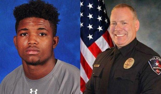 Техасский полицейский застрелил безоружного студента