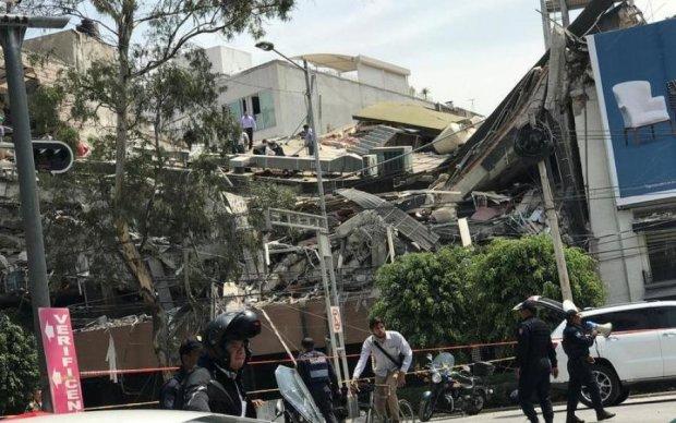 Мексику трясет: новое землетрясение привело к разрушениям в столице