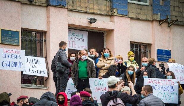 В Василькове под судом, фото facebook