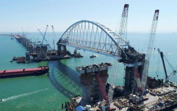 """""""Будівництво століття"""": з'явилися сумні кадри Керченського мосту"""
