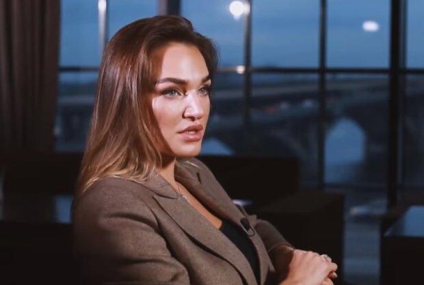 Алла Добкіна, скрін з відео