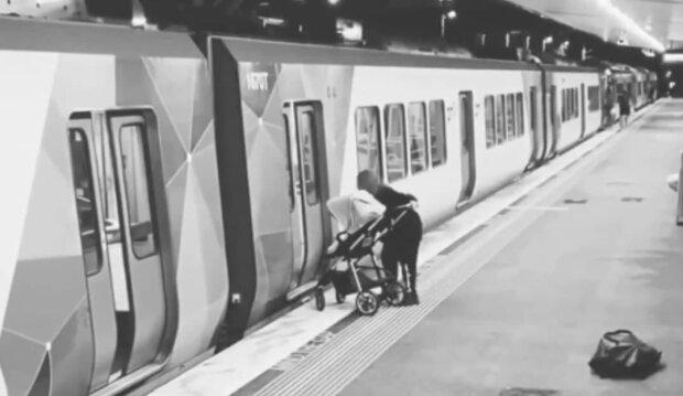 метро, скріншот з відео