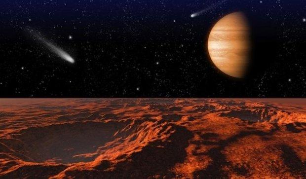 Марс накрыла сильнейшая буря