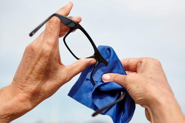 як очистити окуляри, фото:Мirror