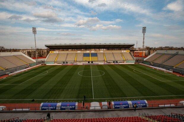Стадіон у Запоріжжі, фото: соціальні мережі
