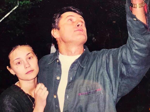 Виктор Ющенко с дочкой Виталиной, фото Telegram