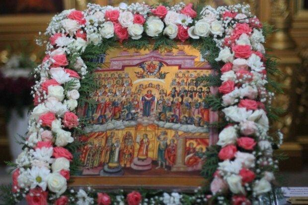 Икона Покрова Богородицы