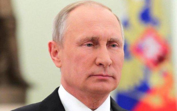 """На Донбассе сожгли """"Путина"""""""