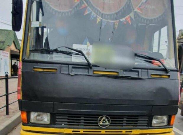 У Тернополі п'яний маршрутник посадив людей в автобус смерті - дорога стрибала і двоїлася