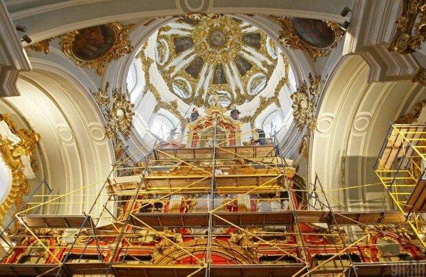 Реконструкция Андреевской церкви, фото: УНИАН