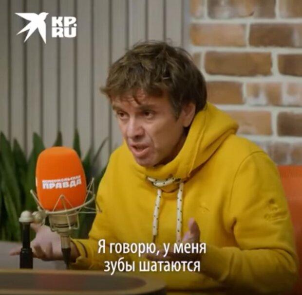 Андрій Губін, кадр з відео
