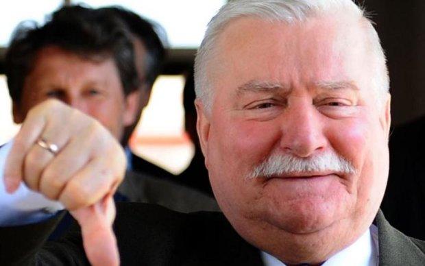 Справжній лідер: екс-президент Польщі поповнив ряди протестуючих