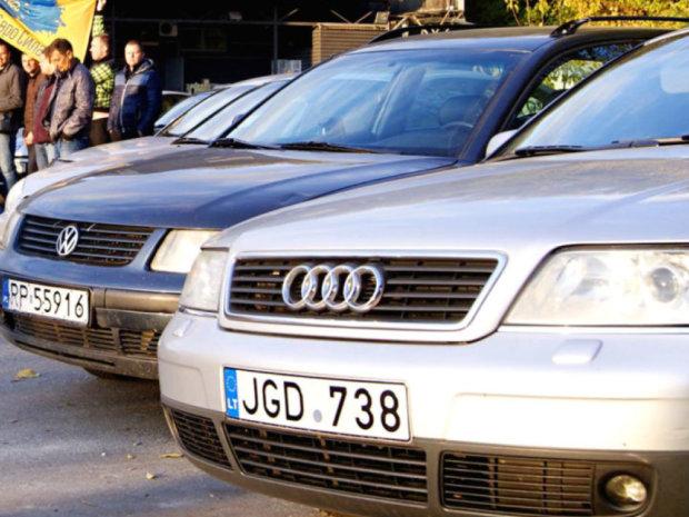 Законы поавтомобилям севропейской регистрацией ориентированы  наподпись Порошенко