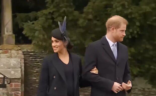 Меган Маркл и принц Гарри, скриншот: YouTube