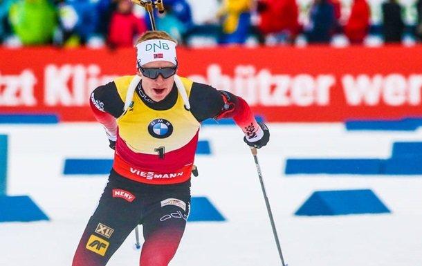 Збірна Норвегії виграла чоловічу естафету, українські біатлоністи - сьомі
