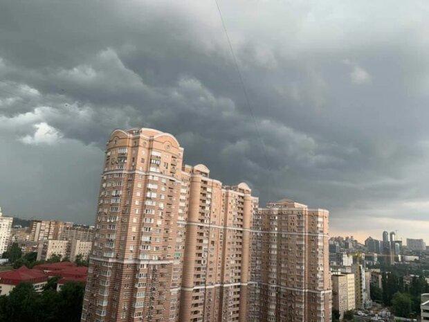 Негода у Києві, фото з фейсбук