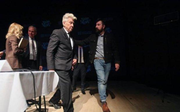 Рецепт щастя від Девіда Лінча: як київський бомонд слухав лекцію режисера