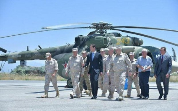 Сирийский диктатор засветился на путинской авиабазе