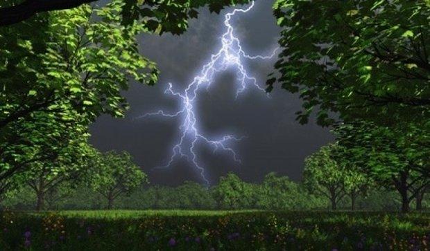 В Україну прийдуть дощі з грозами