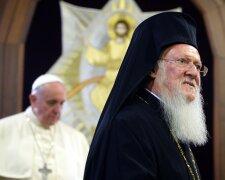 Патріарх Варфоломій і Папа Франциск
