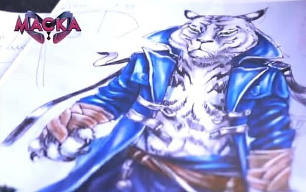 """Белый тигр ворвется на шоу """"Маска"""": """"Невозможно оторвать взгляда"""""""