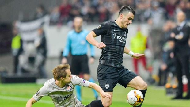 Айнтрахт розгромив Шахтар у матчі-відповіді Ліги Європи