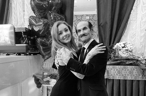 Алена Шоптенко и Григорий Чапкис, фото с Instagram