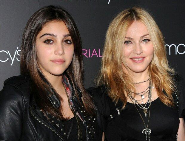 Мадонна с дочерью Лурдес Леон