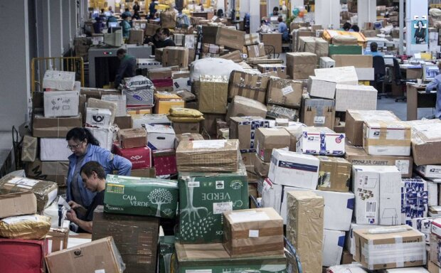 Посилки, фото: Уніан