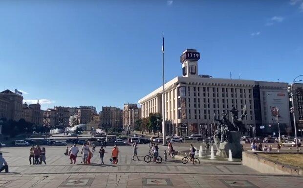 Скрін, відео YouTube, Майдан
