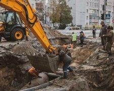 Прорив теплотраси в Києві, Уніан