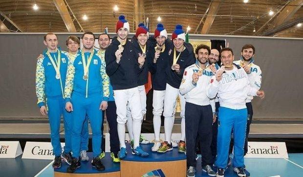 Українські шпажисти вибороли срібло на Кубку світу у Ванкувері