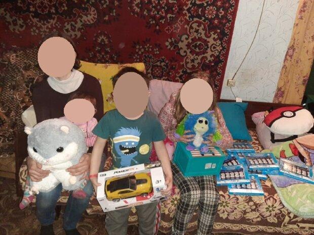 Мария Бойко с детьми, фото: gk-press.if.ua