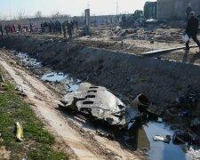 Аварія літака МАУ в Ірані, фото: REUTERS