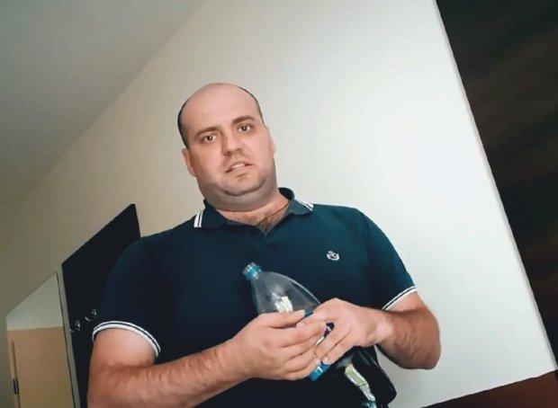 """Бердичівський бандит після побиття ветерана АТО сипле погрозами азовцям: """"Вас почнуть калічити, стріляти в під'їзді по одному"""""""