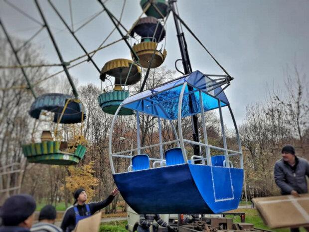 Оглядове колесо у Хмельницькому, фото depo.ua