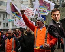 Протест железнодорожников \\ фото Радио Свобода