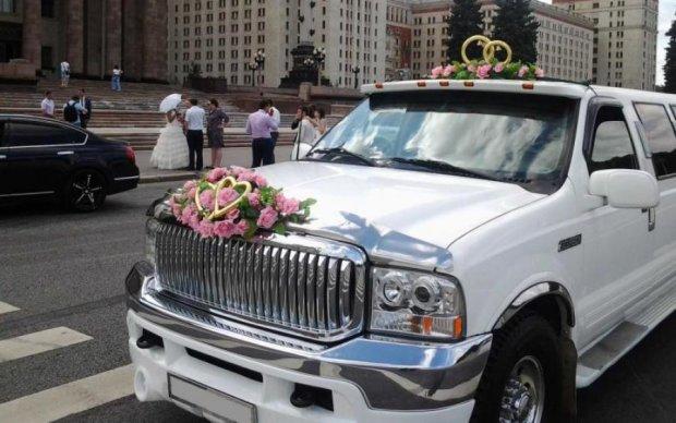 Киевский лимузин получил самый странный в мире апгрейд
