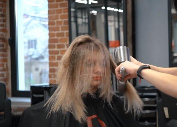 Волосы, скриншот: YouTube